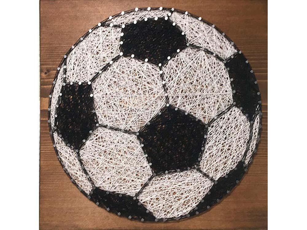 Купить Набор для творчества STRING ART «Футбольный мяч», Woodberry