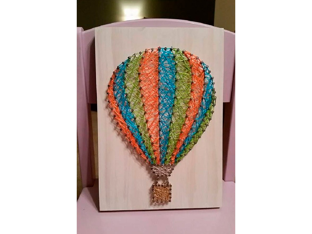 Купить Набор для творчества STRING ART «Воздушный шар», Woodberry