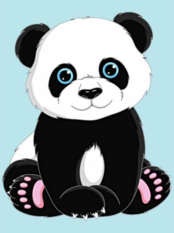Купить Алмазная вышивка «Панда», Гранни