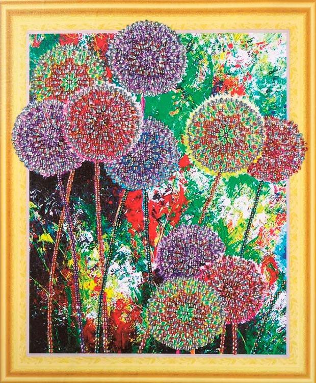 Алмазная вышивка 5D «Радуга цветов»