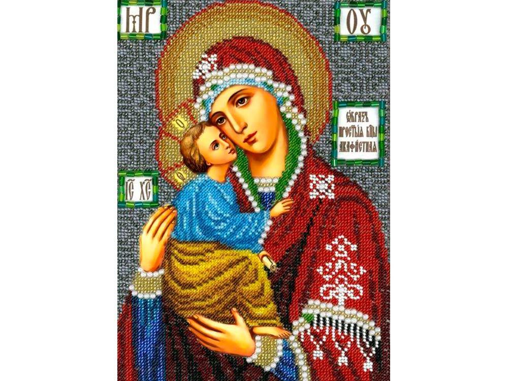 Купить Вышивка бисером, Набор вышивки бисером «Богородица Акафистная», Вышиваем бисером