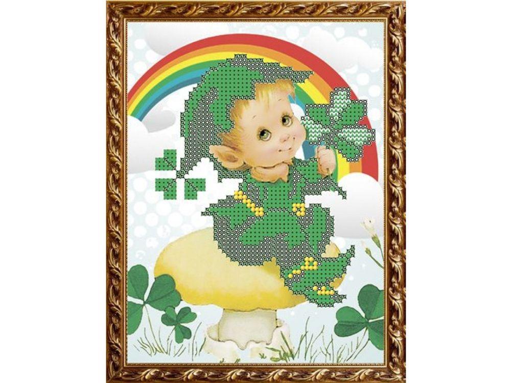 Рисунок на ткани «На удачу» фото