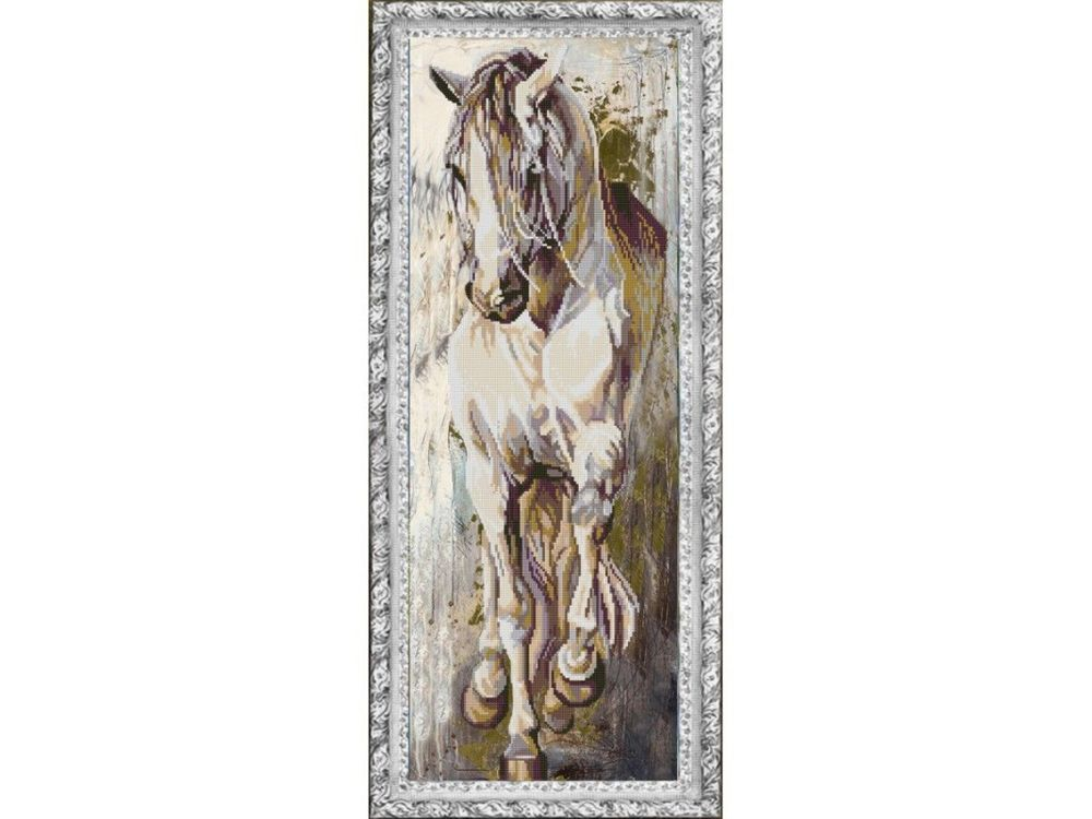 Рисунок на ткани «Норд» фото