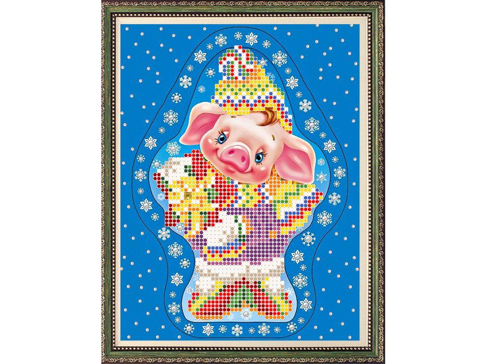 Рисунок на ткани «С Новым Годом» фото