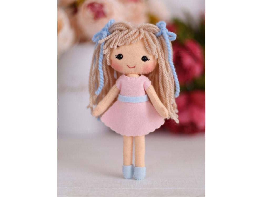 Набор для шитья игрушки «Куколка Аня»