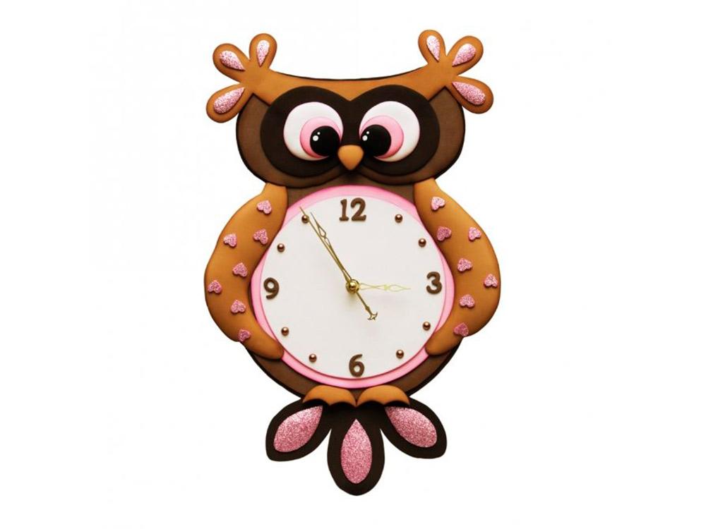 Часы из фоамирана «Сова»