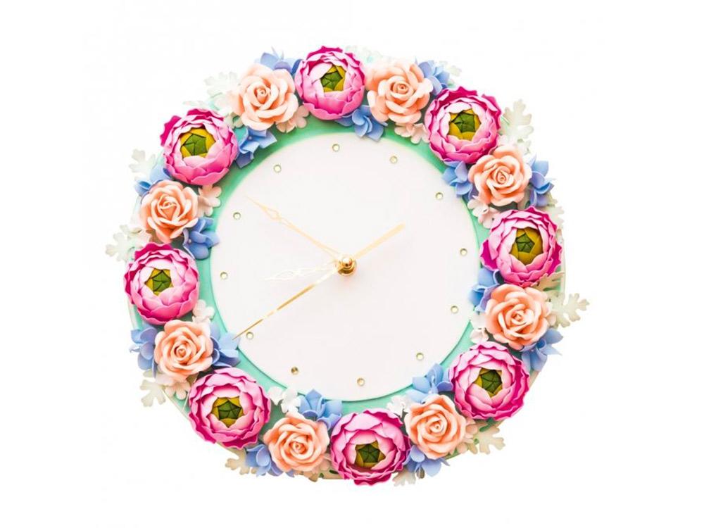 Часы из фоамирана «Дыхание лета»