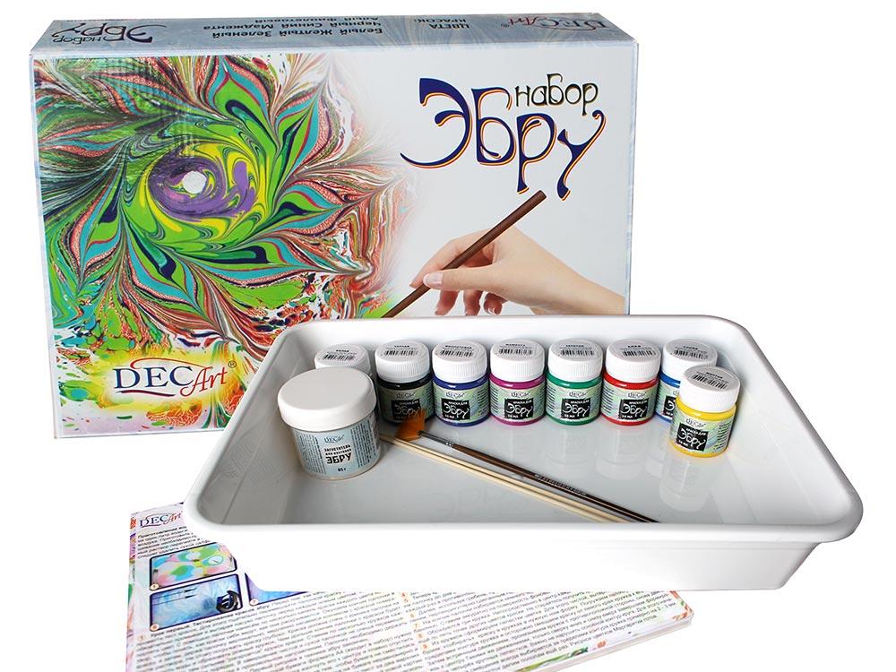 Купить Набор для эбру 8 цветов, DecArt®, 65-8.40-N1