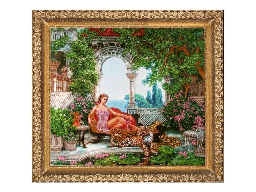 Купить Вышивка бисером, Набор для вышивания бисером «Нега», Butterfly, 38x42 см, 440