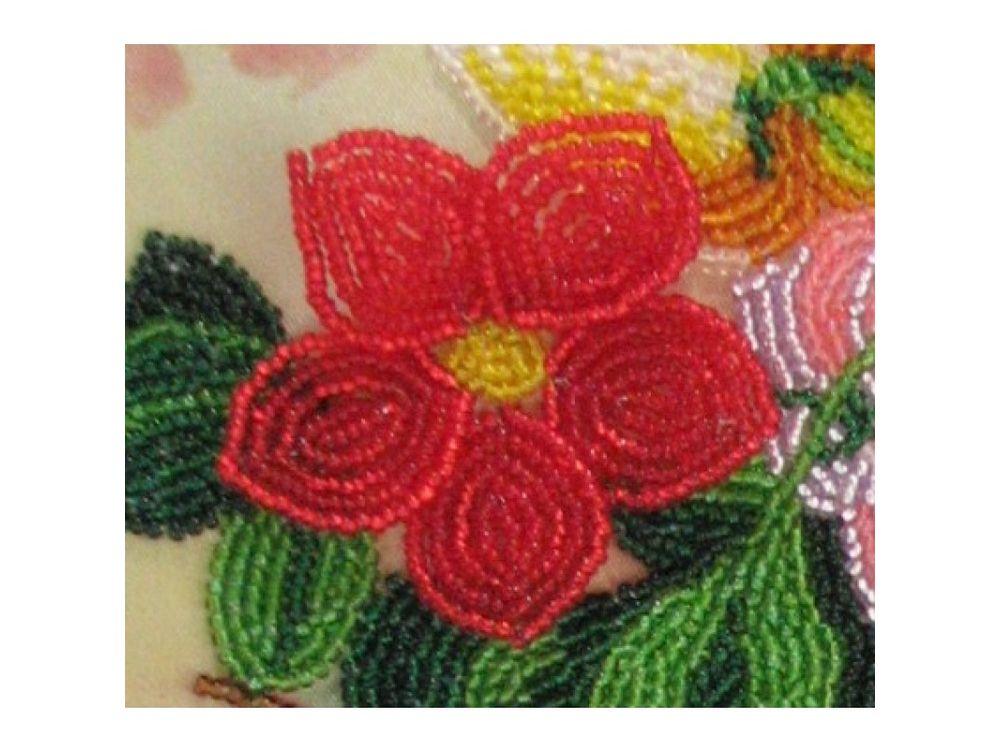 Купить Вышивка бисером, Набор для вышивания бисером «Гитара», Butterfly, 35x25 см, 801