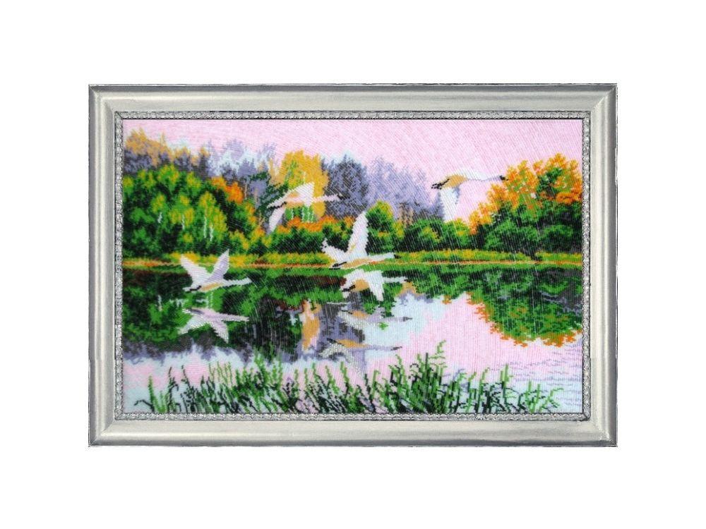 Купить Вышивка бисером, Набор для вышивания бисером «На взлете», Butterfly, 33x53 см, 527