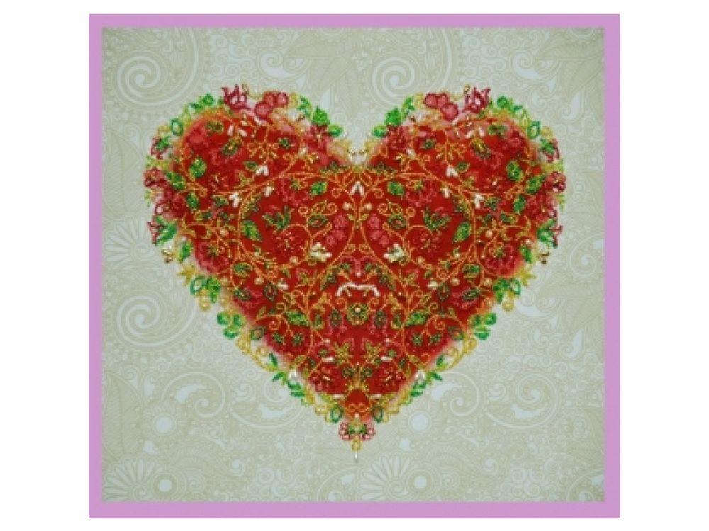Купить Вышивка бисером, Набор для вышивания бисером «Для тебя», Картины Бисером, 30x30 см, Р-147