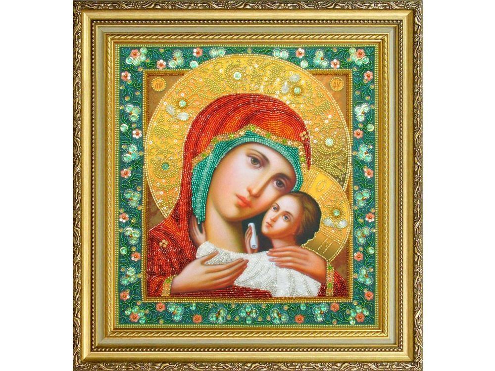 Набор для вышивания бисером «Икона Божией Матери Касперовская» фото