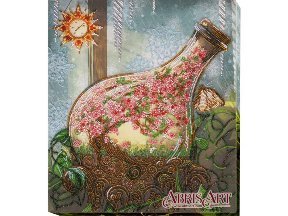 Купить Вышивка бисером, Набор вышивки бисером «Вот-вот», Абрис Арт, 31x35 см, AB-643
