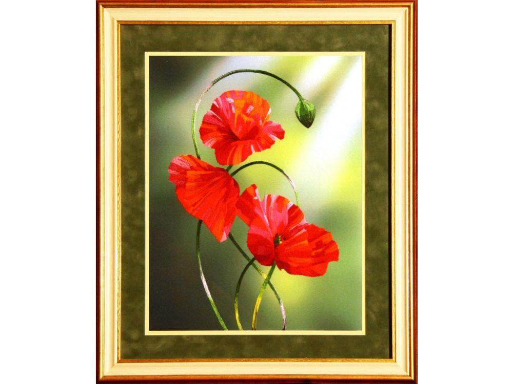 Купить Набор для вышивания «Фламенко», Рисуем иглой, N0025