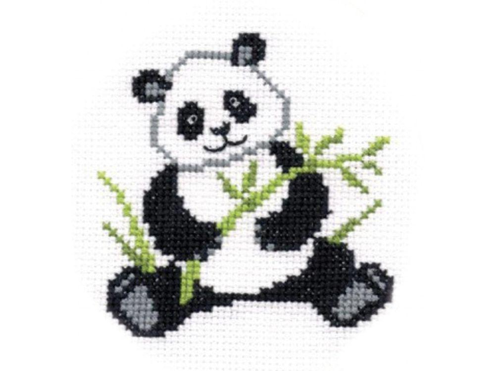 Купить Набор для вышивания «Панда», Повитруля, П1-024