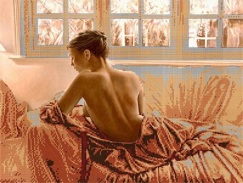 Рисунок на ткани «Нежность» Астрея (Глурия) фото