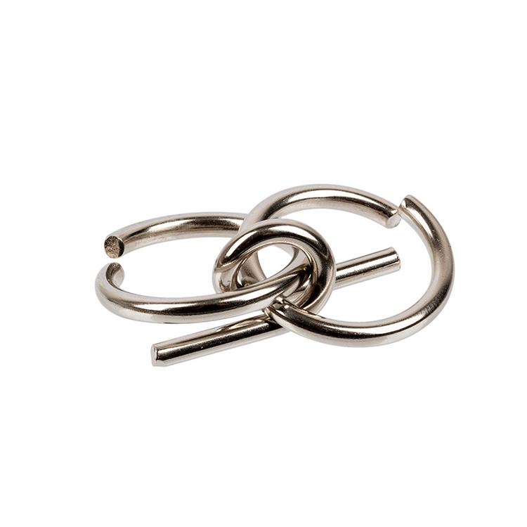 Головоломка металлическая Двойная петля, DELFBRICK