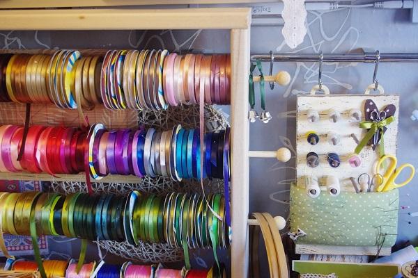 На фото изображено - Вышивка лентами для начинающих, рис. Мастерская вышивки лентами