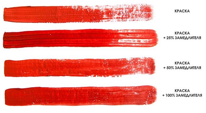 На фото изображено - Рисование акриловыми красками: полезные советы, рис. Акриловая краска с замедлителем