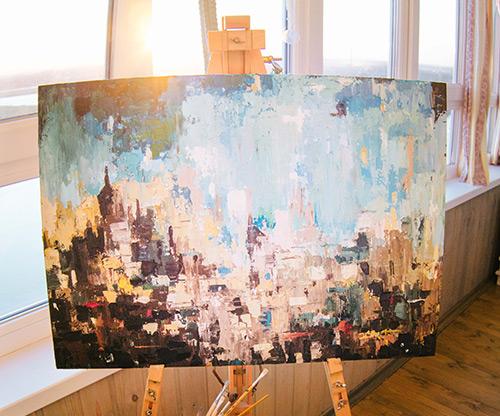 На фото изображено - Рисование масляными красками для начинающих, рис. Ускорение сушки