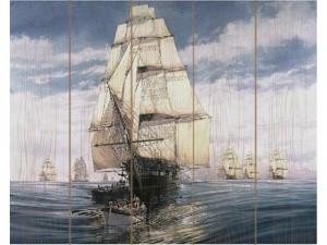 Картина по номерам по дереву Molly «Парусник» Ивана Айвазовского