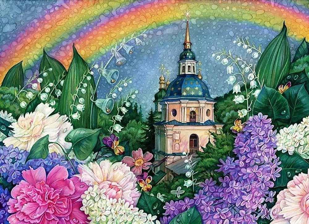 Цветной мир открытки