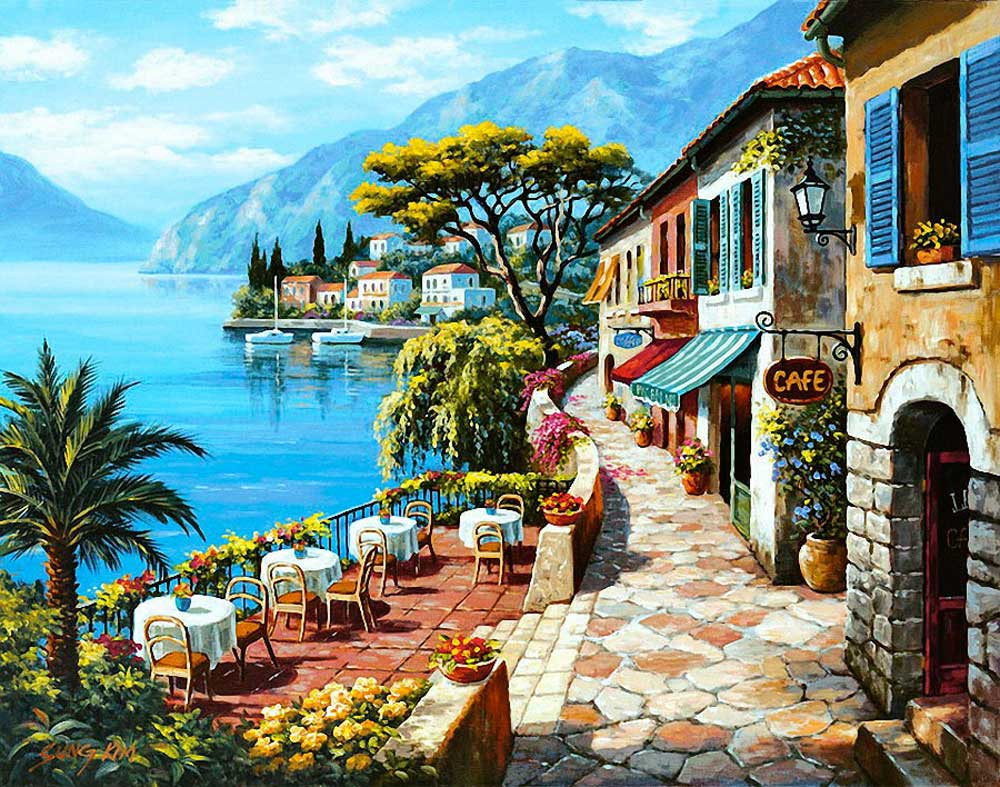 Красивые картинки с приморским пейзажем