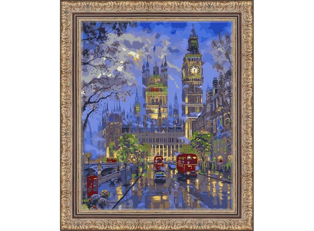 Картина по номерам «Вестминстерский дворец, Лондон» MG546 ...