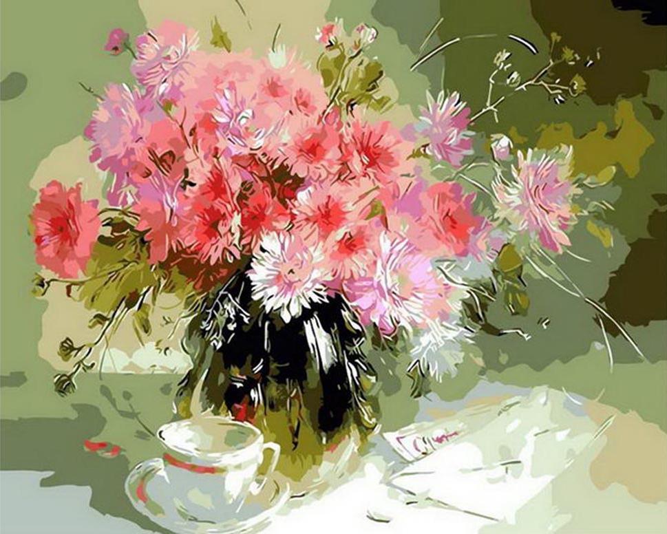 Купить Картина по номерам «Хорошее утро», Paintboy (Premium), Китай, GX8052
