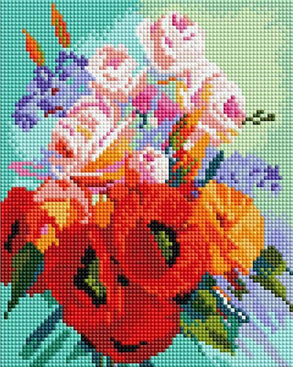 Купить Алмазная вышивка «Радость утра», Белоснежка, Россия, 20x25 см, 009-ST-PS