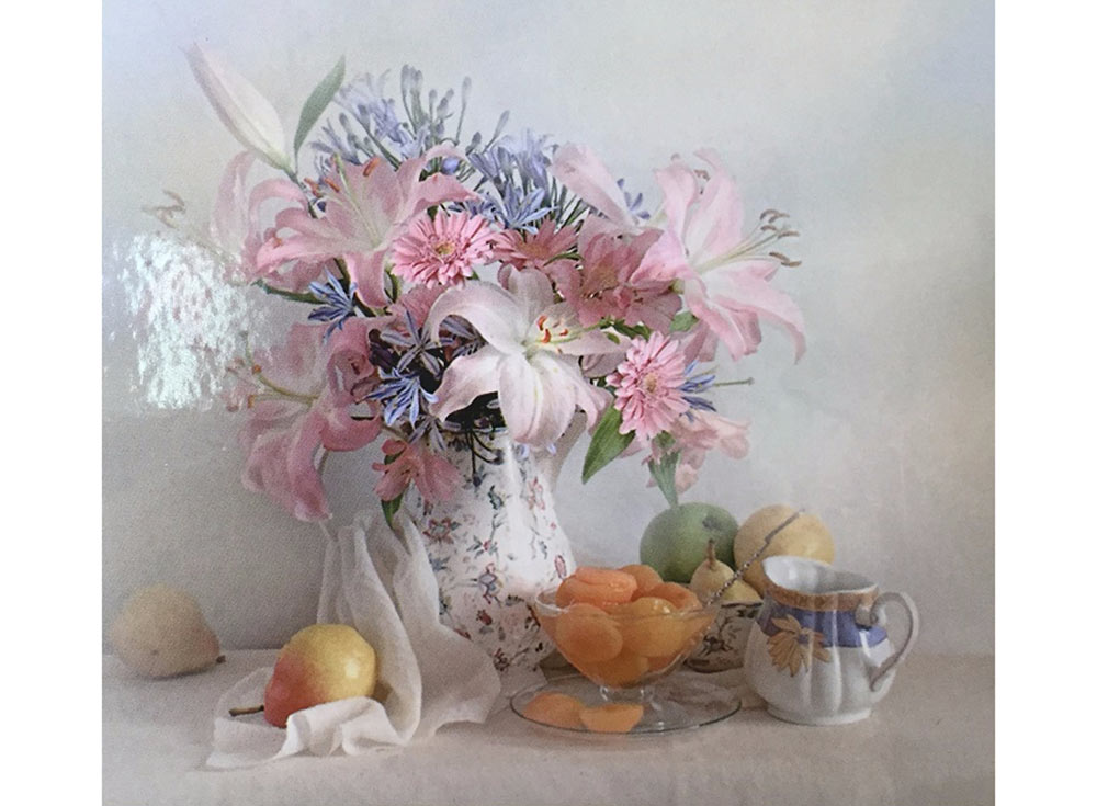Купить Вышивка бисером, Набор вышивки бисером «Лилии», Color KIT, Россия, 23x30 см, 507