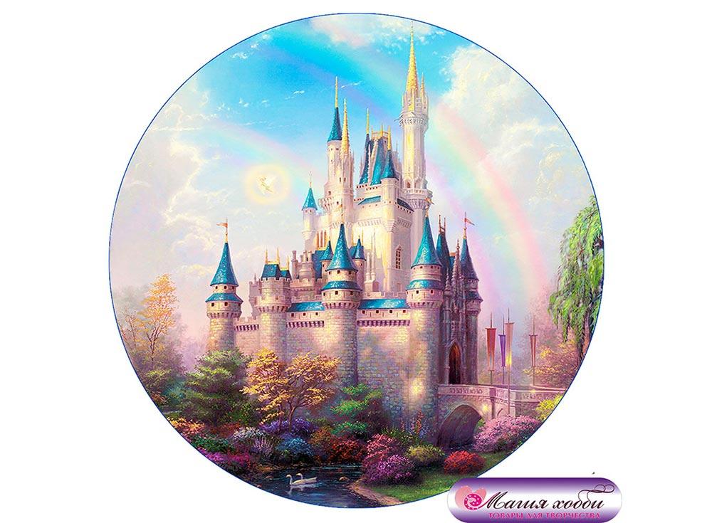 Купить Папертоль «Волшебный замок», Магия хобби, 12x12 см, РТ150044