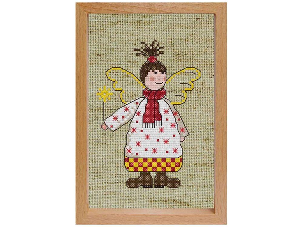 Купить Вышивка крестом, Набор для вышивания «Зубная фея», Белоснежка, Россия, 17x12 см, 207-EF