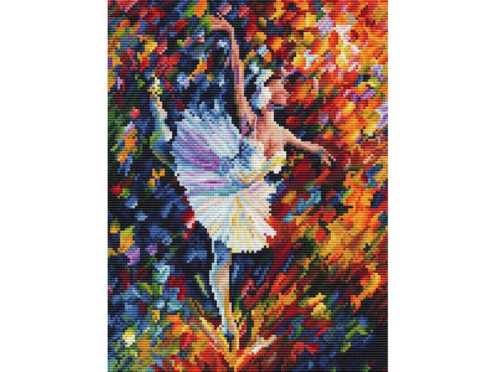Купить Вышивка крестом, Набор для вышивания «Танец души», Белоснежка, Россия, 35x30 см, 985-14