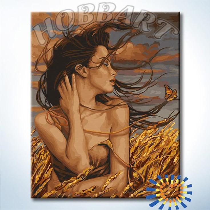 Купить Картина по номерам «Осенний ветер», Hobbart, Россия, DZ4050040