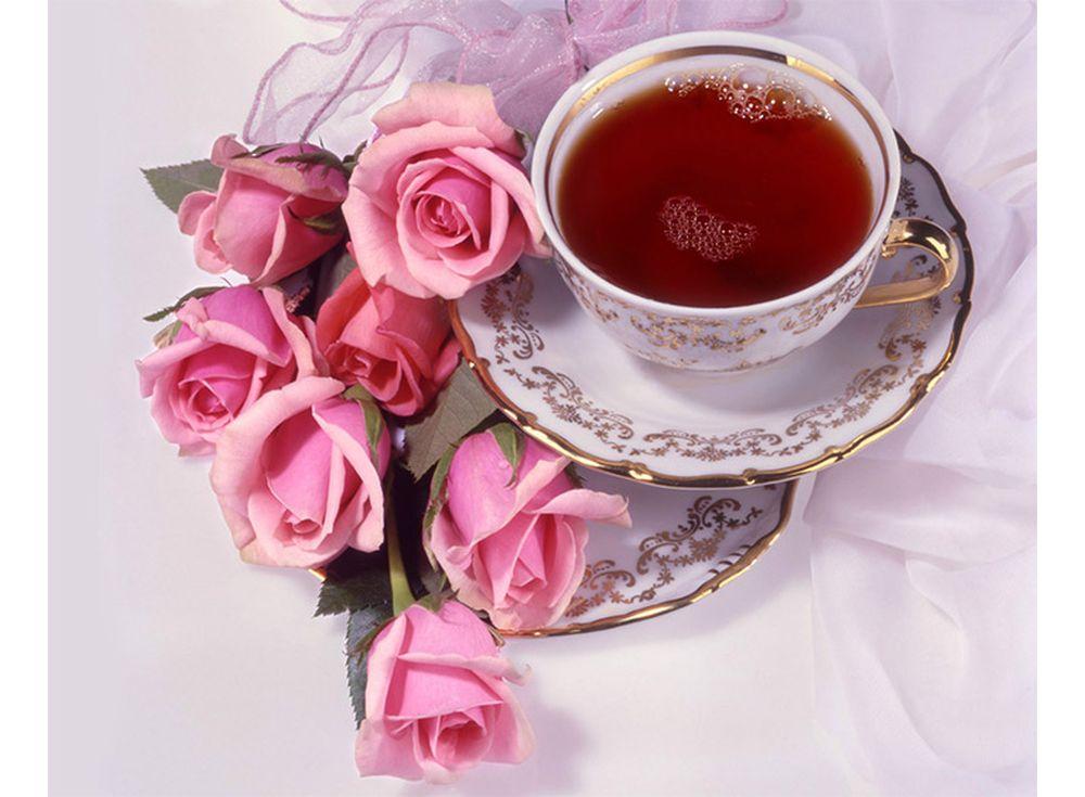 Картинки роза и чай