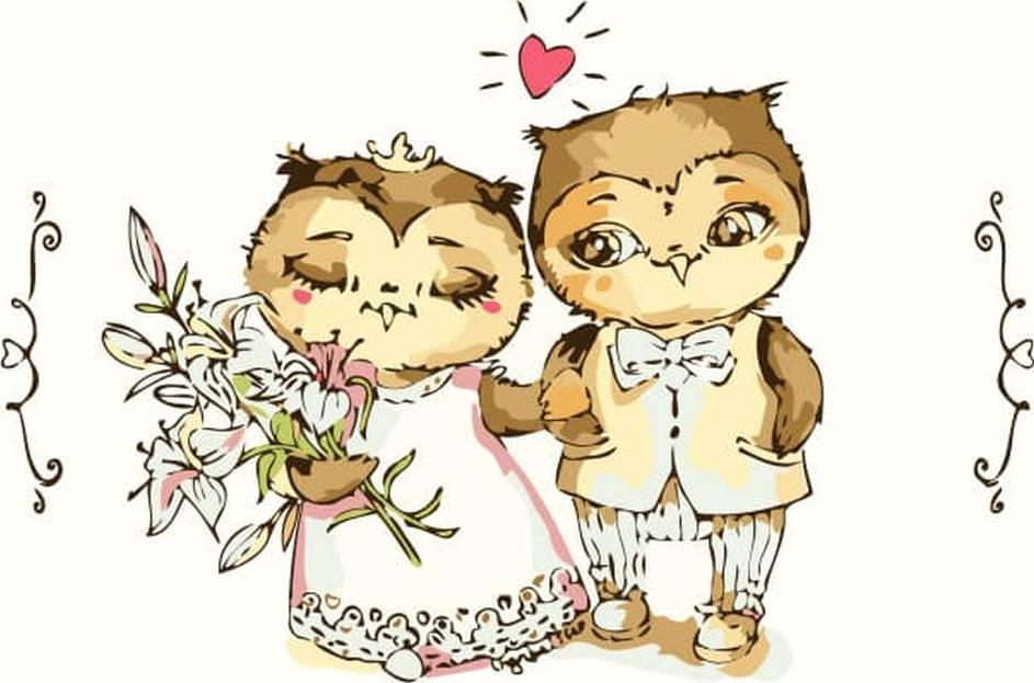 Картинки, открытки 1 месяц после свадьбы