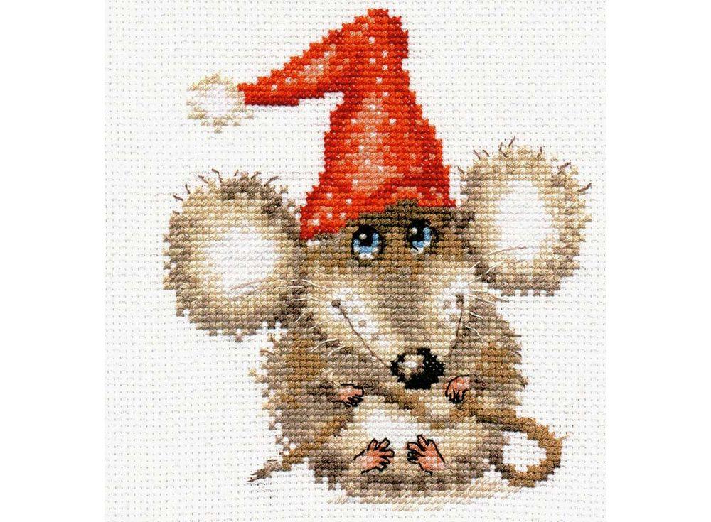 Купить Вышивка крестом, Набор для вышивания «Очаровашка», Алиса, 12x14 см, 0-103