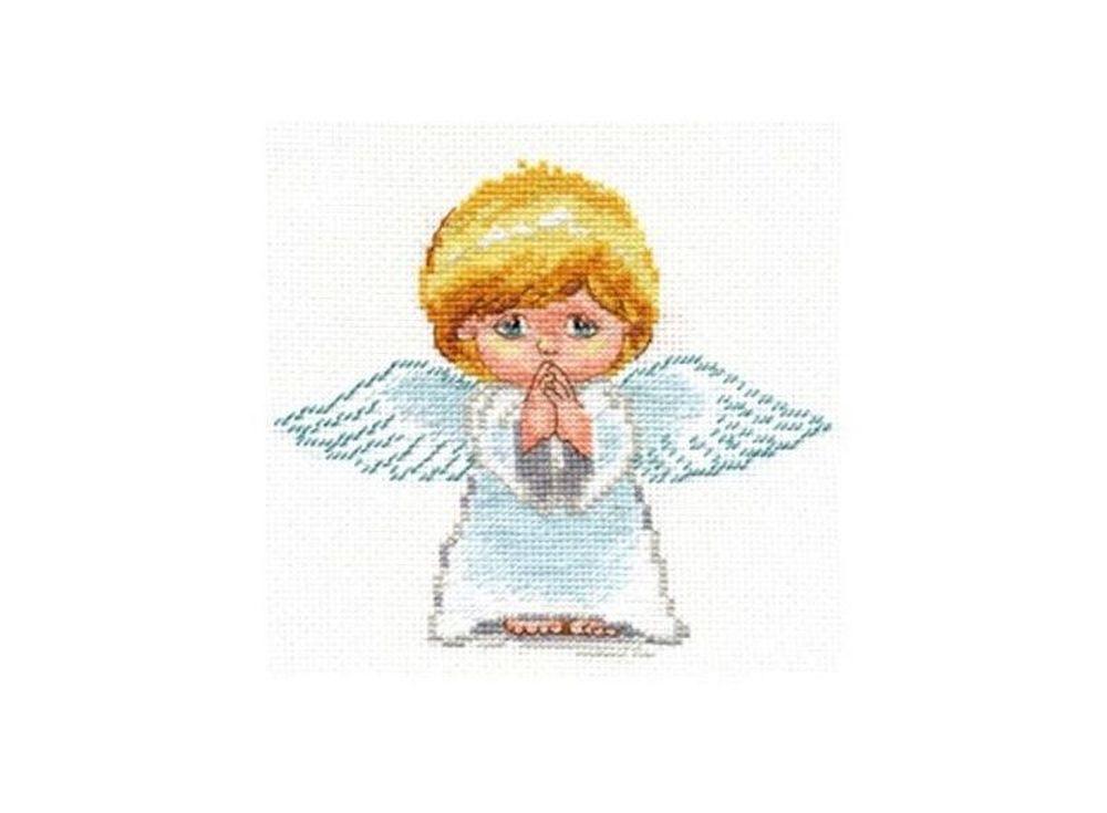 Купить Вышивка крестом, Набор для вышивания «Мой ангел!», Алиса, 14x13 см, 0-109