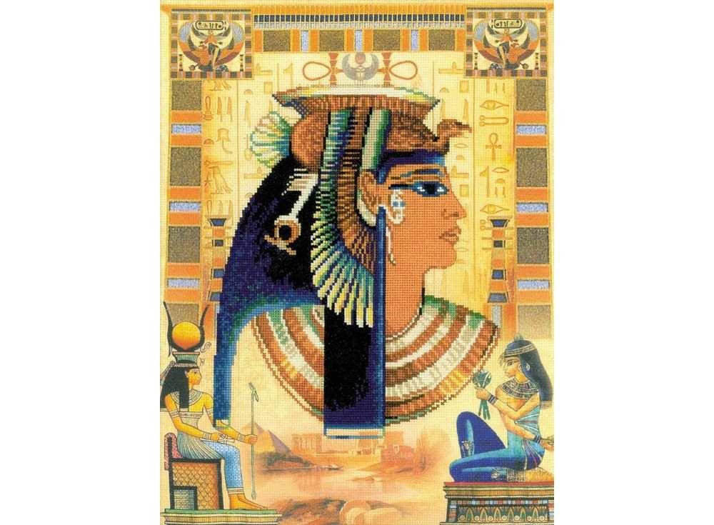 Купить Вышивка крестом, Набор для вышивания «Клеопатра», Риолис (Сотвори Сама), 30x40 см, 0046 РТ