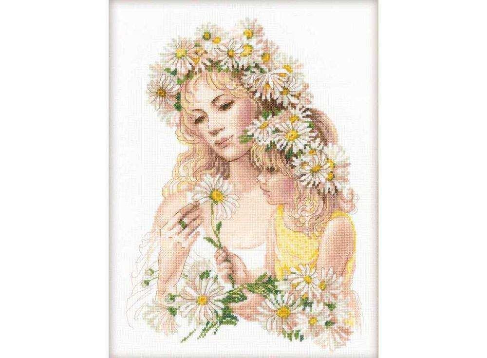 Купить Вышивка крестом, Набор для вышивания «Гармония», Риолис (Premium), 30x40 см, 100/035