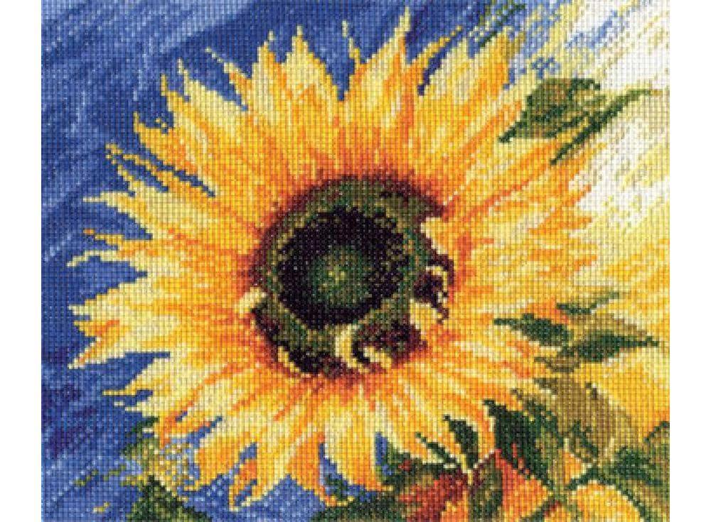 Купить Вышивка крестом, Набор для вышивания «Посланник солнца», Алиса, 20x18 см, 2-03