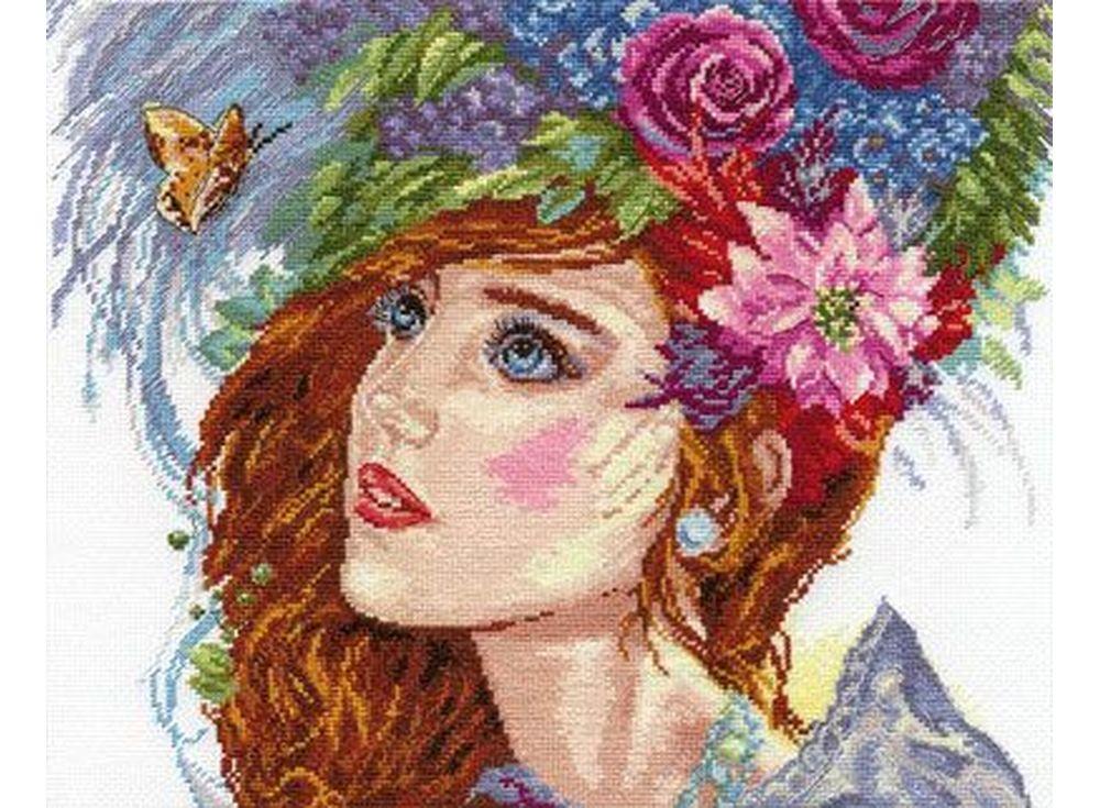 Купить Вышивка крестом, Набор для вышивания «Пробуждение весны», Алиса, 33x26 см, 4-02