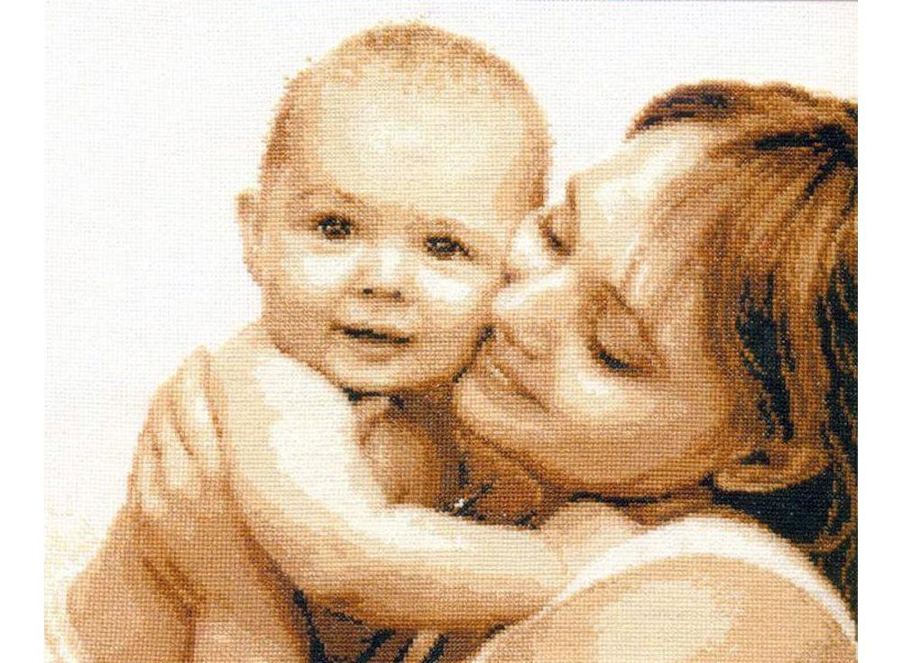 Купить Вышивка крестом, Набор для вышивания «Мой малыш», Алиса, 33x27 см, 4-13