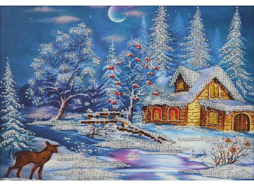 Картинки для вышивания бисером схемы зимняя тематика, поздравление летием мальчику