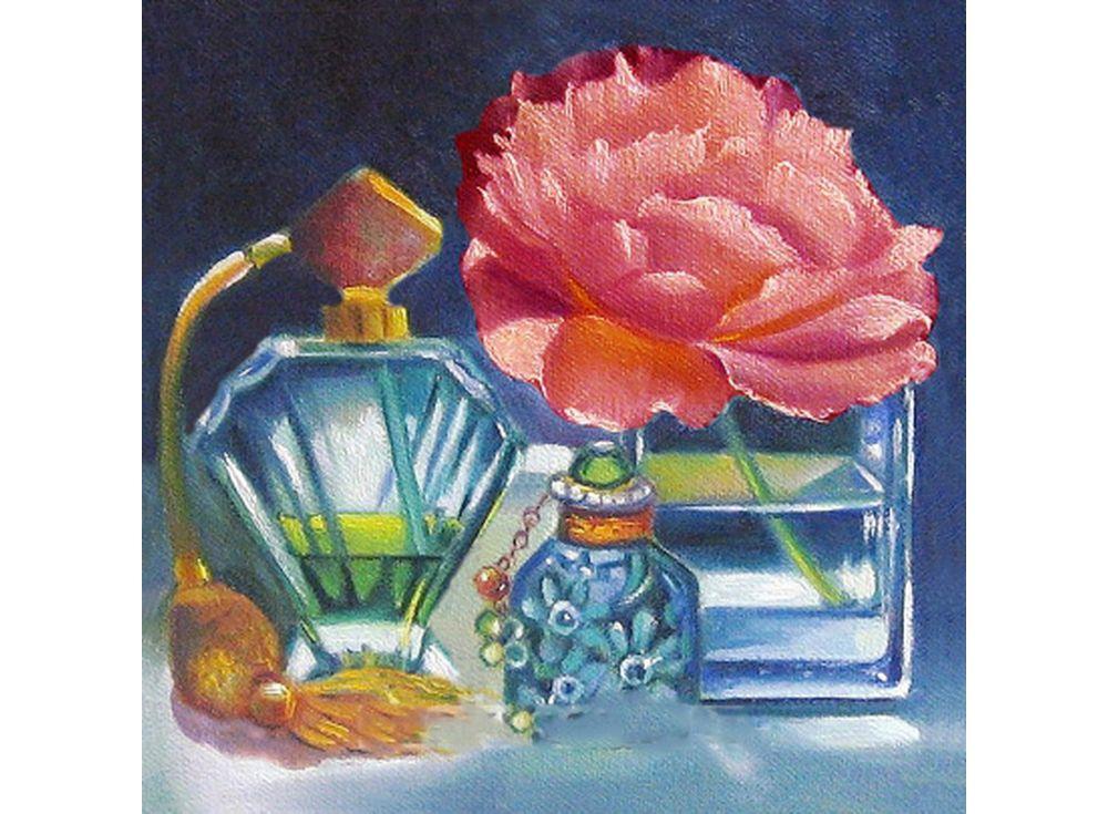 Купить Мозаика из пайеток «Натюрморт с духами», Color KIT, 30x30 см, CMD007