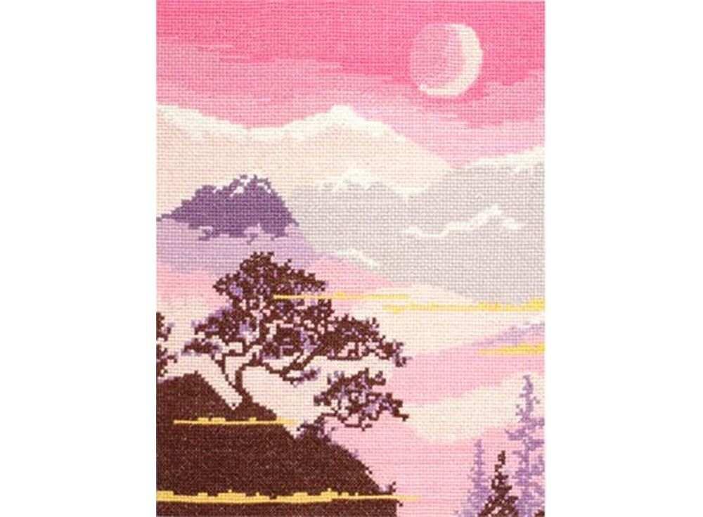 Купить Вышивка крестом, Набор для вышивания «Пейзаж 1», Овен, 38x25 см, 123