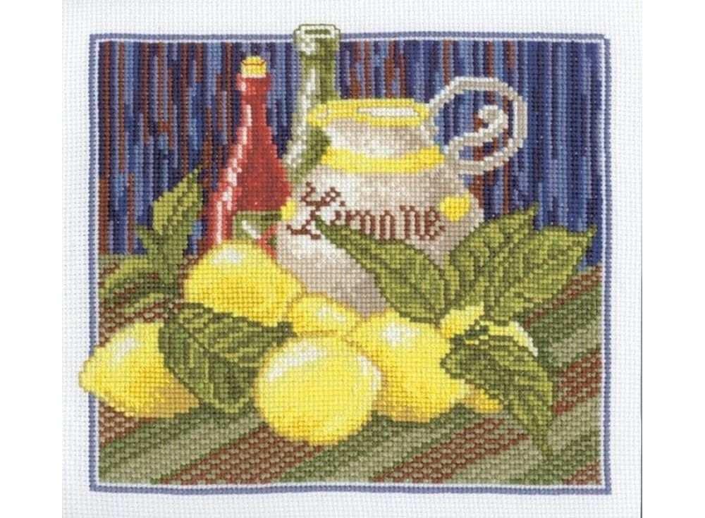 Купить Вышивка крестом, Набор для вышивания «Кантри №2», Овен, 21x20 см, 497