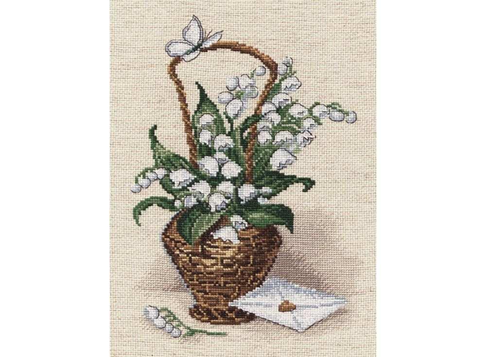 Купить Вышивка крестом, Набор для вышивания «Признание», Овен, 18x27 см, 531